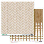 Glitz Design - Dapper Dan Collection - 12 x 12 Double Sided Paper - Chevron