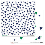 Glitz Design - Dapper Dan Collection - 12 x 12 Double Sided Paper - Triangles