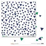 Glitz Design - Dapper Dan Collection - 12 x 12 Double Sided Paper - Triangles