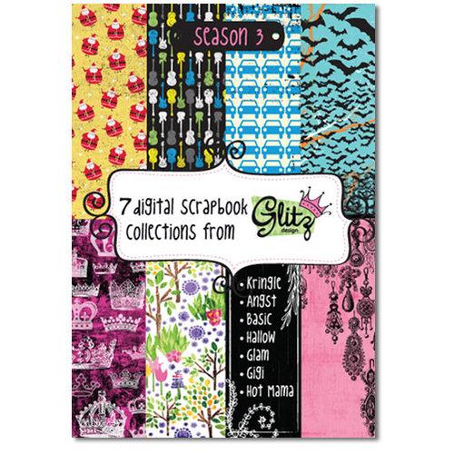 Glitz Designs - Digital Scrapbook Collections from Glitz - CD