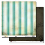 Glitz Design - Dance in Sunshine Collection - 12 x 12 Double Sided Paper - Stripe