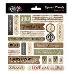 Glitz Design - French Kiss Collection - Epoxy Stickers