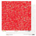 Glitz Design - Finnley Collection - 12 x 12 Double Sided Paper - Floral