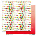 Glitz Design - Finnley Collection - 12 x 12 Double Sided Paper - Multi Triangle