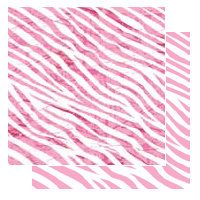 Glitz Design - Gigi Collection - 12x12 Double Sided Paper - Zebra