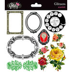 Glitz Design - Scarlett Collection - Glitzers - Transparent Stickers with Jewels - Scarlett