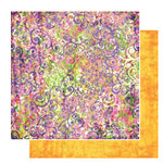 Glitz Design - Gigi Collection - 12x12 Double Sided Paper - Swirls, CLEARANCE