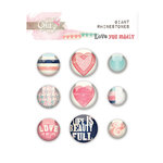 Glitz Design - Love You Madly Collection - Giant Rhinestones