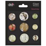 Glitz Design - French Kiss Collection - Giant Rhinestones
