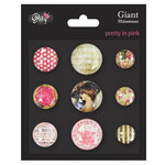 Glitz Design - Pretty in Pink Collection - Giant Rhinestones
