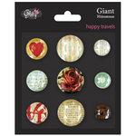 Glitz Design - Happy Travels Collection - Giant Rhinestones