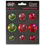 Glitz Design - Beautiful Dreamer Collection - Giant Rhinestones
