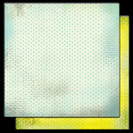 Glitz Design - Hoopla Collection - 12 x 12 Double Sided Paper - Polka, CLEARANCE