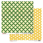 Glitz Design - Hello December Collection - Christmas - 12 x 12 Double Sided Paper - Moroccan