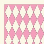 Glitz Designs - Hot Mama Collection - 12x12 Double Sided Paper - Harlequin