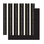 Glitz Designs - Hot Mama Collection - 12x12 Double Sided Paper - Hot Mama Stripe, CLEARANCE
