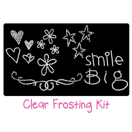 Glitz Design - Clear Frosting Kit