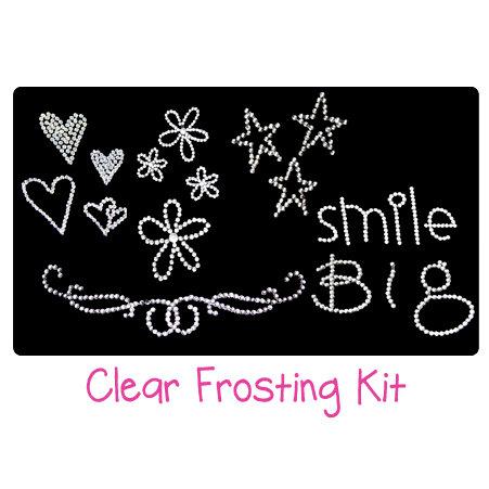 Glitz Design - Clear Frosting Kit