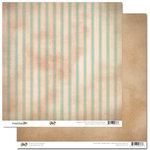 Glitz Design - Happy Travels Collection - 12 x 12 Double Sided Paper - Stripe