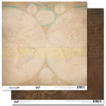 Glitz Design - Happy Travels Collection - 12 x 12 Double Sided Paper - World