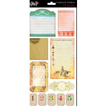 Glitz Design - Afternoon Muse Collection - Cardstock Stickers - Journaling