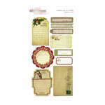 Glitz Design - Joyeux Noel Collection - Christmas - Cardstock Stickers - Journaling