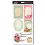 Glitz Design - Beautiful Dreamer Collection - Cardstock Stickers - Journaling