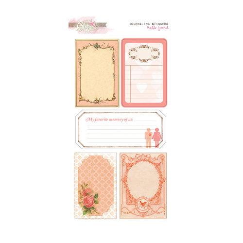 Glitz Design - Hello Friend Collection - Cardstock Stickers - Journaling
