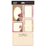 Glitz Design - Pretty in Pink Collection - Cardstock Stickers - Journaling