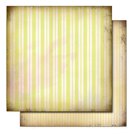 Glitz Design - Love Nest Collection - 12 x 12 Double Sided Paper - Stripe