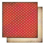 Glitz Design - Love Nest Collection - 12 x 12 Double Sided Paper - Polka, BRAND NEW