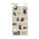 Glitz Design - Joyeux Noel Collection - Christmas - Layered Stickers