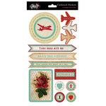 Glitz Design - Happy Travels Collection - Layered Stickers