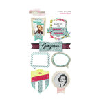 Glitz Design - Cashmere Dame Collection - Layered Stickers