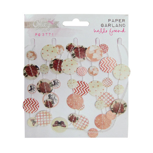 Glitz Design - Hello Friend Collection - Paper Garland