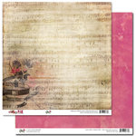 Glitz Design - Pretty in Pink Collection - 12 x 12 Double Sided Paper - Music