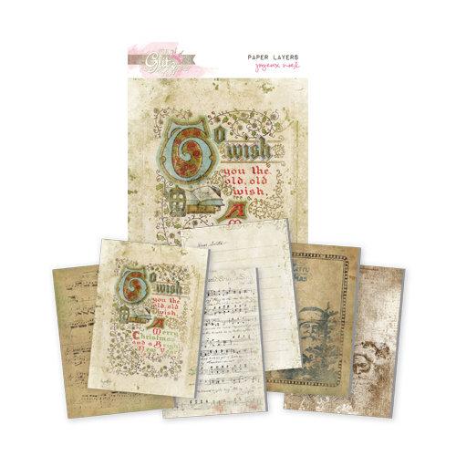 Glitz Design - Joyeux Noel Collection - Christmas - Paper Layers