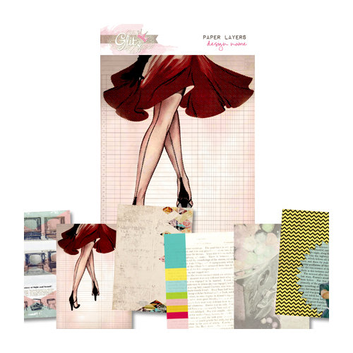 Glitz Design - Cashmere Dame Collection - Paper Layers