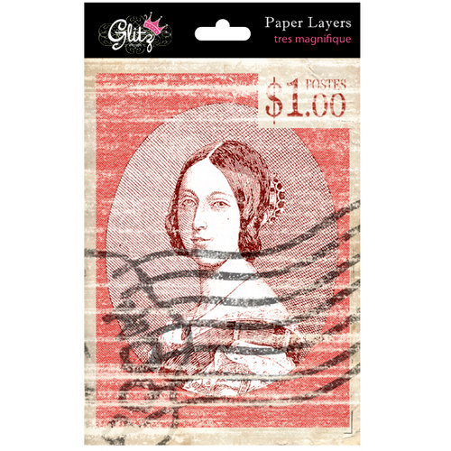 Glitz Design - French Kiss Collection - Paper Layers