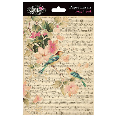 Glitz Design - Pretty in Pink Collection - Paper Layers