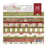 Glitz Design - Joyeux Noel Collection - Christmas - 6 x 6 Paper Pad