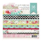 Glitz Design - Cashmere Dame Collection - 6 x 6 Paper Pad