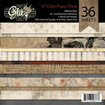 Glitz Design - French Kiss Collection - 6 x 6 Paper Pad