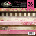 Glitz Design - Pretty in Pink Collection - 6 x 6 Paper Pad