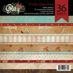 Glitz Design - Happy Travels Collection - 6 x 6 Paper Pad