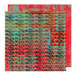 Glitz Design - Rebel Collection - 12 x 12 Double Sided Paper - Rebel Muscles, CLEARANCE