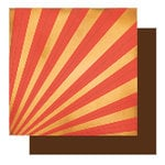 Glitz Designs - Rhapsody Collection - 12x12 Double Sided Paper - Rhapsody Rays, CLEARANCE
