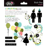 Glitz Design - Hoopla Collection - Rub Ons