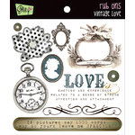 Glitz Design - Vintage Love Collection - Rub Ons