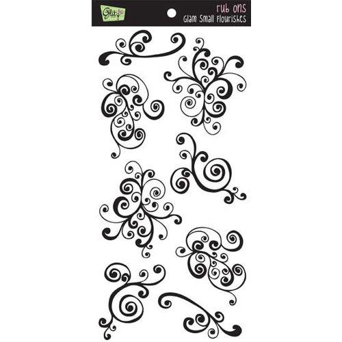 Glitz Designs - Rub Ons - Glam Small Flourishes, CLEARANCE